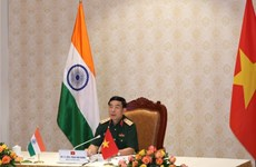 Defence minister holds telephone talks with Indian counterpart