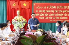 Dak Nong asked to concentrate on socio-cultural-economic development, Party building