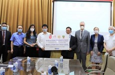 Ministry receives 190,000 COVID-19 test kits from German states