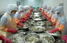 Aquatic product export on recovery