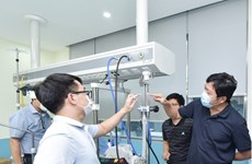 Hanoi university's high flow nasal cannula makes debut