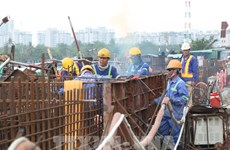 HCM City: 90-percent workload of 10 trillion VND anti-flooding project completed
