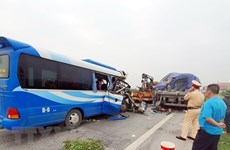 Traffic death toll hits 3,192 in first half