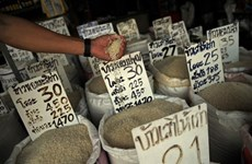 Thai rice exports drop 21 percent in six months