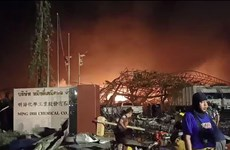 Chemical factory blast injures 21 in Bangkok