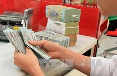 Reference exchange rate down 15 VND