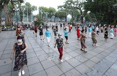 Hanoi suspends outdoor sport activities, physical exercise
