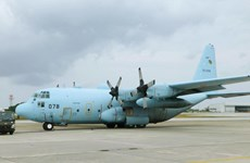 Philippines, Japan hold first joint air force drill on humanitarian assistance