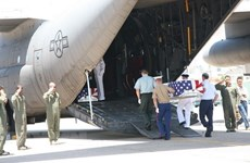 Remains of missing-in-action US serviceman handed over to US