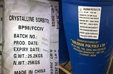 Anti-dumping tax levied on sorbitol products from China, India, Indonesia