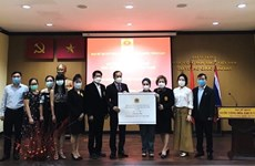 OVs in Thailand donate to COVID-19 vaccine fund
