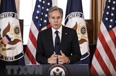 Top US diplomat emphasises need to ensure rules-based maritime order