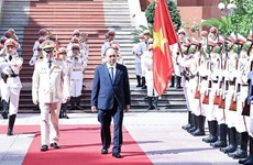 President spotlights important role of public security forces