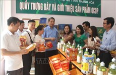 Thanh Hoa has 24 more provincial-level OCOP products