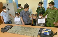Drug smugglers arrested in northern Dien Bien province