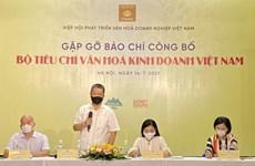 Criteria for evaluating Vietnamese business culture announced