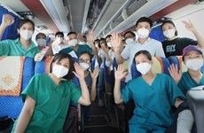 Nearly 4,500 medical staff help HCM City fight COVID-19