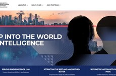 Singapore's intelligence agency launches official website