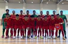 Vietnam futsal team calls up 22 players to prepare for the 2021 FIFA Futsal World Cup