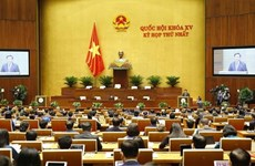 15th National Assembly's first session opens