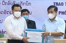 Quang Binh aids Lao locality in livestock protection