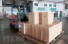 HCM City receives additional medical equipment worth over 400 billion VND