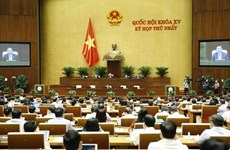 Government proposes keeping structure at 15th NA's first session