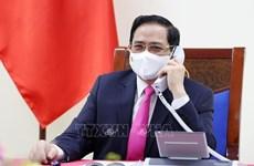 Vietnamese, RoK PMs hold phone talks