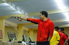 Vietnamese marksman fails to defend title in men's 10m air pistol at Olympics