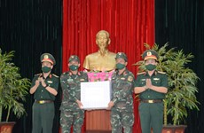 Ceremony held to send off Vietnamese artillery team to 2021 Int'l Army Games