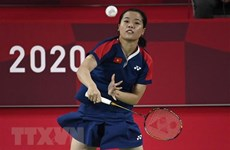 Vietnamese badminton player earns second victory at Tokyo Olympics