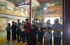 Vietnamese in Luang Prabang pay tribute to heroic martyrs