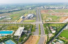 Vietnamese, Japanese firms shake hands in affordable housing project in Long An