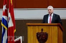 Cuban leader thanks Vietnam, int'l friends for support
