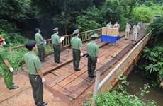 Vietnamese, Cambodian police enhance ties amidst COVID-19