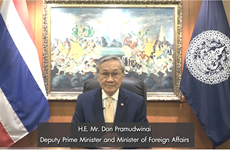 Thailand boosts ASEAN cooperation for comprehensive post-pandemic recovery