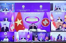 Vietnam attends 54th ASEAN Foreign Ministers' Meeting