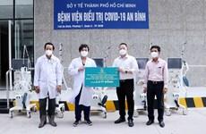 HCM City: enterprises donate medical supplies, equipment serving COVID-19 treatment