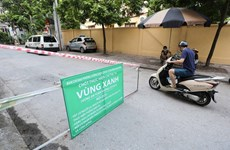 Hanoi sets up first 'green zones' COVID-free areas