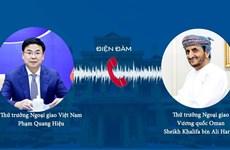 Vietnamese and Omani Deputy FMs hold phone talks