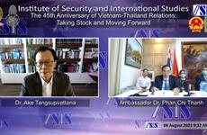 Webinar looks back on 45-year-old Vietnam-Thailand relations