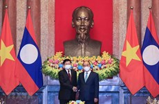 President's visit affirms special attention to fostering ties with Laos