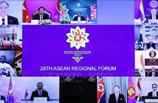 28th ARF calls for maintenance of security, freedom of navigation in East Sea