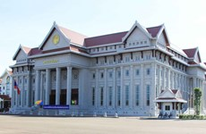 Ceremony held to hand over new Lao NA House
