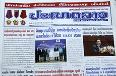 Lao newspapers hail Laos-Vietnam traditional friendship, comprehensive cooperation