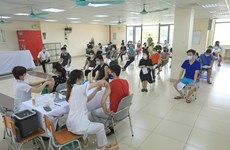 VN administers record 1.4m doses of COVID-19 vaccine on Aug. 10, total crosses 11m mark