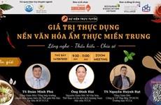 Programme promotes cuisine of Vietnam's central region