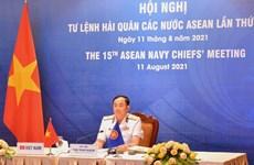 Vietnam attends 15th ASEAN Navy Chiefs' Meeting