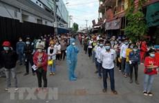 New COVID-19 cases decline in Cambodia, rise in Laos