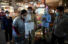Cambodia, Laos intensify pandemic prevention efforts